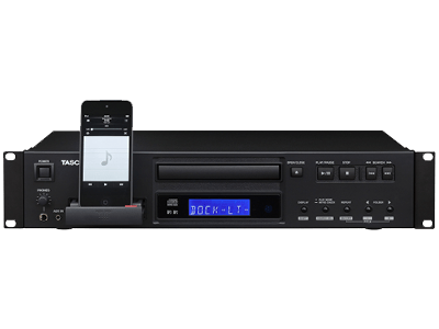 Buy online tascam cd200il professional cd player for Yamaha lightning dock