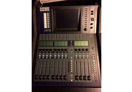 Allen & Heath iLive-R72 with iDR-16 MixRack