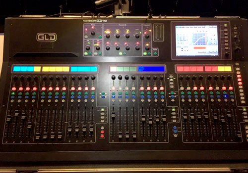 Allen & Heath GLD-112 with AR2412 + flightcases