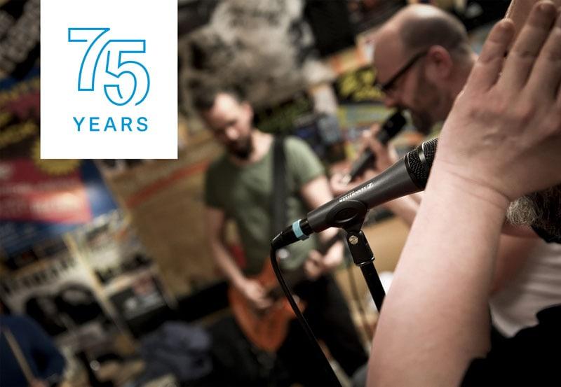 Sennheiser's 75th anniversary promotions | XLR