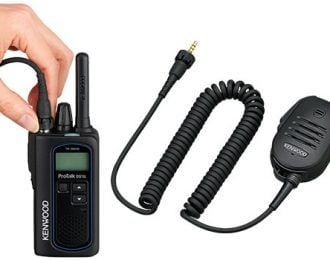 Kenwood TK-3601D with KMC-55W (4-Pack)