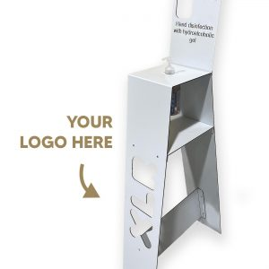 Disinfectant Stand with Personalised Logo