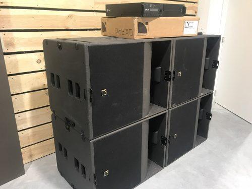 L-acoustics KS21 + LA12X 1