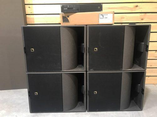 L-acoustics KS21 + LA12X 2