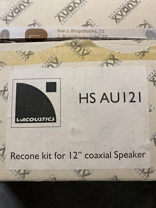 "AUDAX HSAU121 - 12"" recone for AUDAX PR133 2"