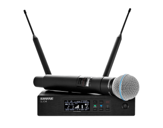 Shure QLXD24E/BETA58 (H51) Digital UHF Wireless System