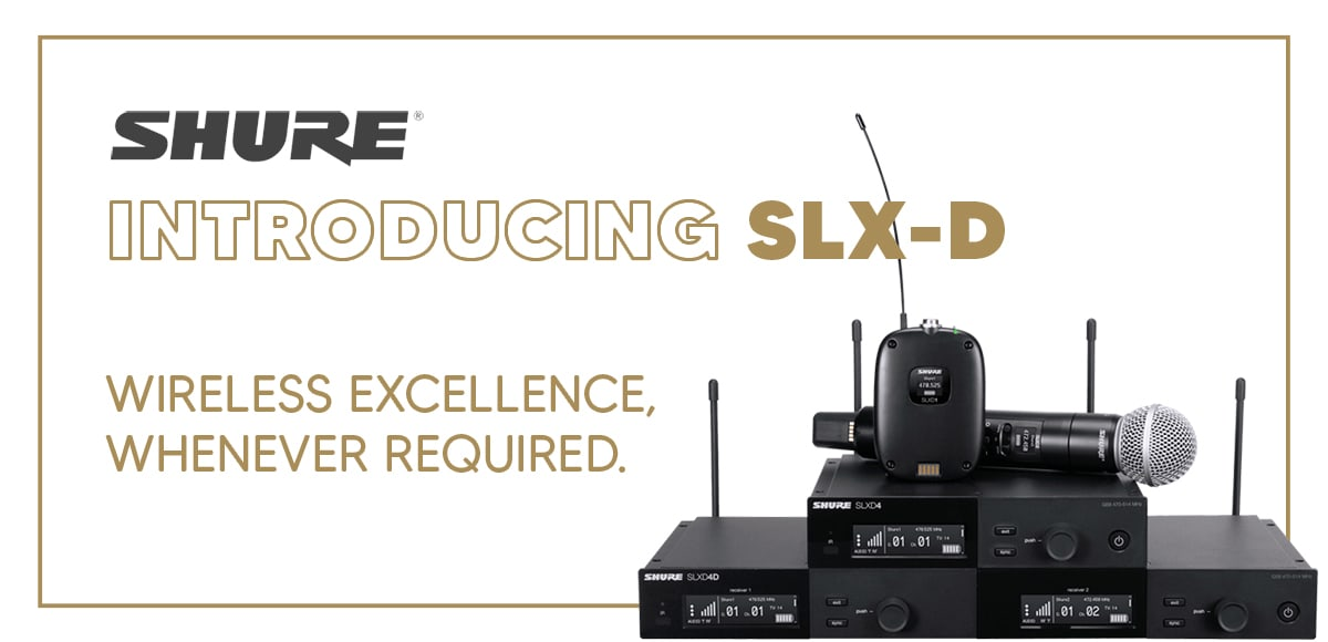 Shure Introducing New SLX-D 1