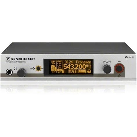 Sennheiser EM 300 G3 (Band A 516-558MHz) Microphone Receiver | XLR