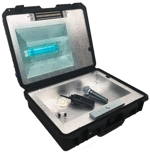 UV-C Treatment Disinfection Box 1