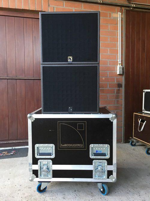 L-Acoustics Self-Powered Set (2x 112P + 2x SB15P) - New Color 3
