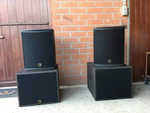 L-Acoustics Self-Powered Set (2x 112P + 2x SB15P) - New Color 1