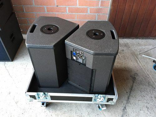 L-Acoustics Self-Powered Set (2x 112P + 2x SB15P) - New Color | XLR