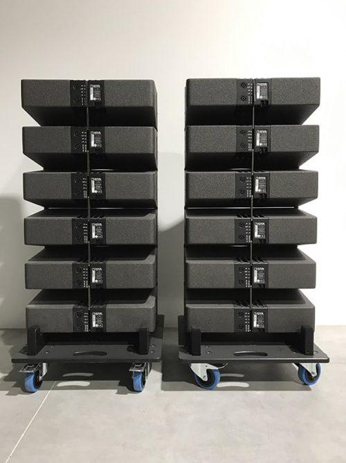 L-Acoustics Kiva Set - New Color (incl. Wheel Plates) 3