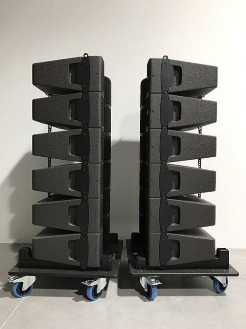 L-Acoustics Kiva Set - New Color (incl. Wheel Plates) 4