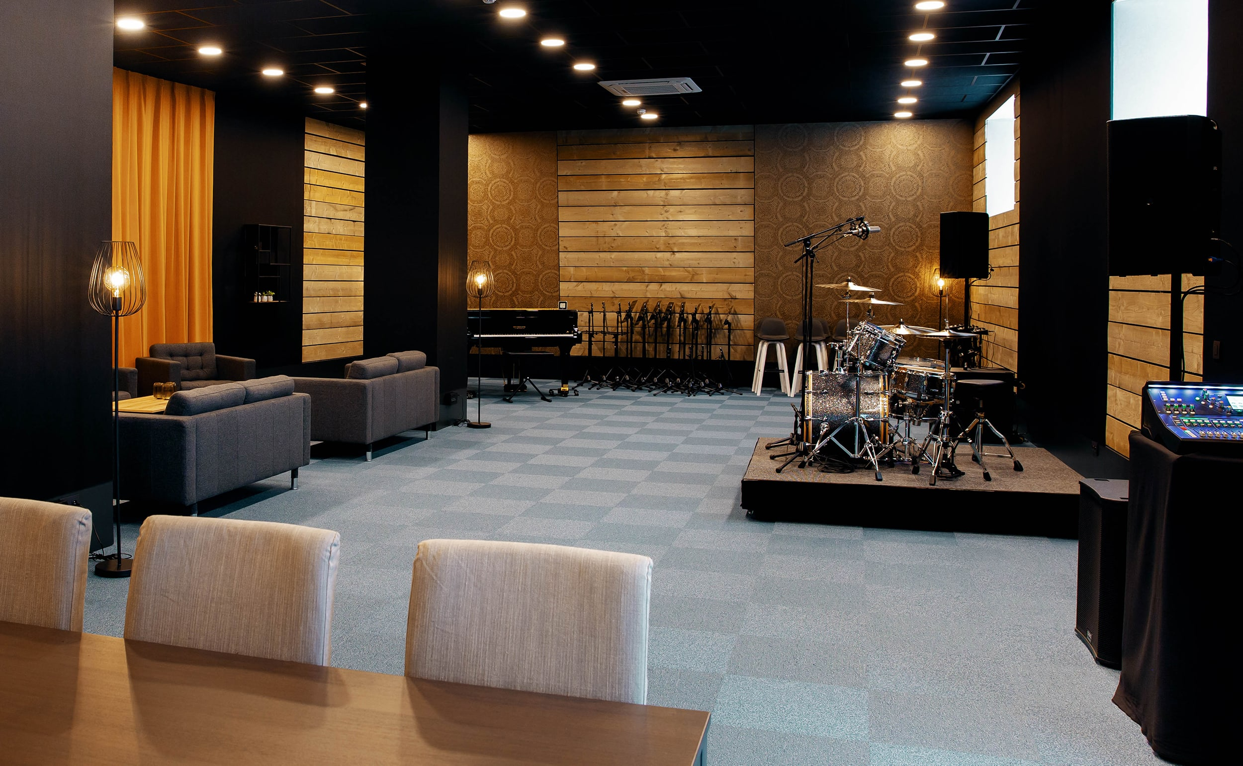 Allen & Heath Is The Primary Choice For Brand New High-End Rehearsal Studios Near Brussels 4