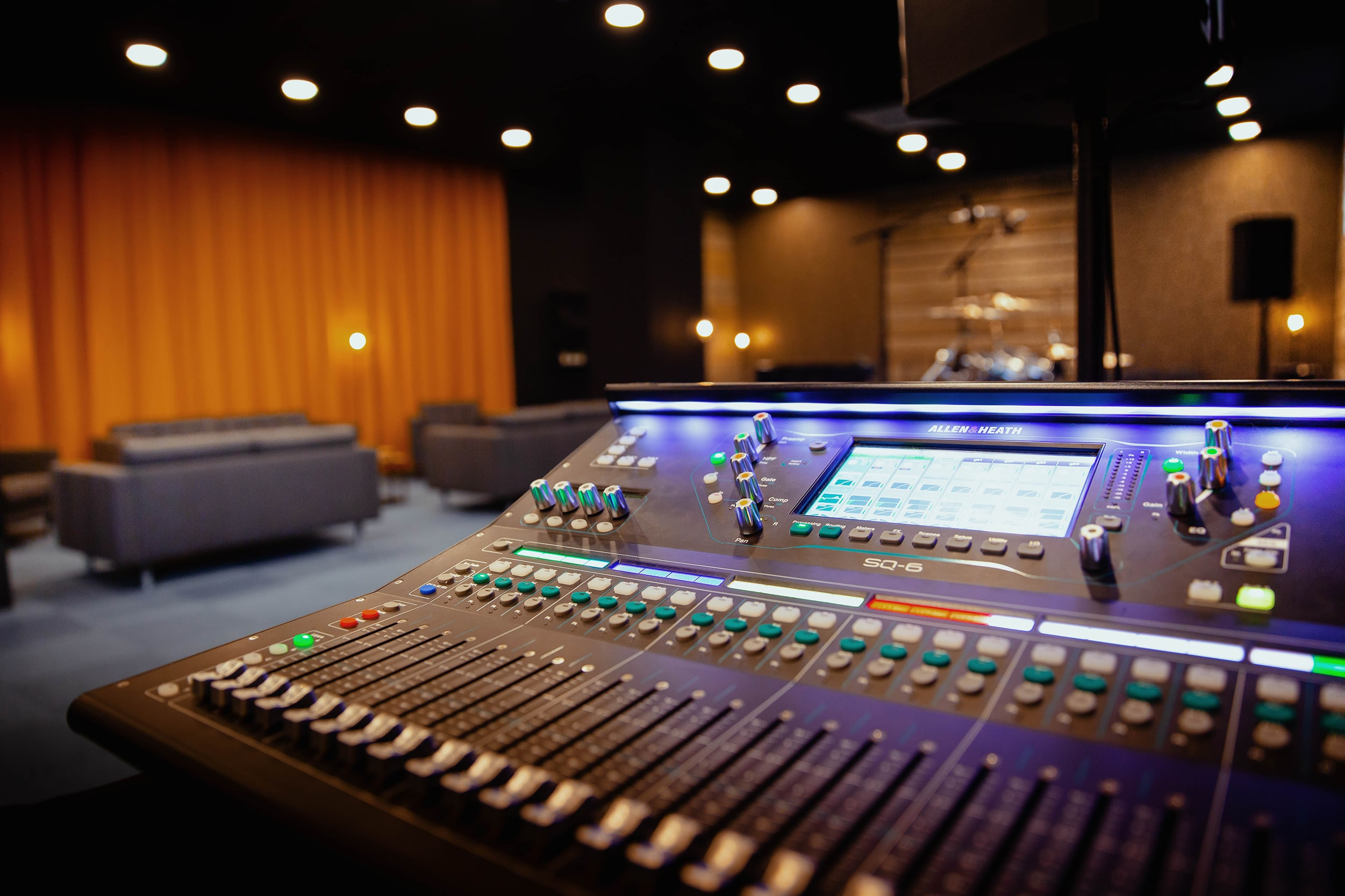 Allen & Heath Is The Primary Choice For Brand New High-End Rehearsal Studios Near Brussels 1