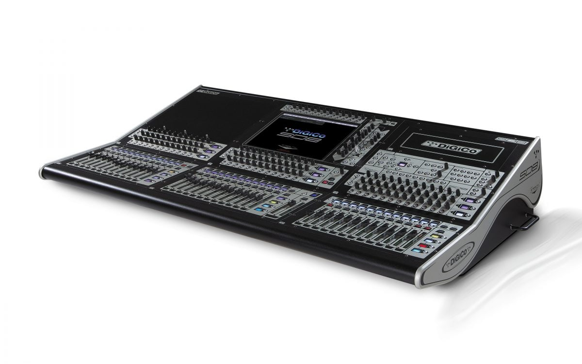 DiGiCo SD8 Digital Mixing Console Pack 4