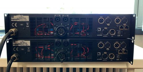 L-Acoustics LA8-R3 Amplifier (AES included) | XLR