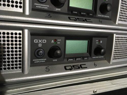 QSC GXD8 Power Amplifier 2