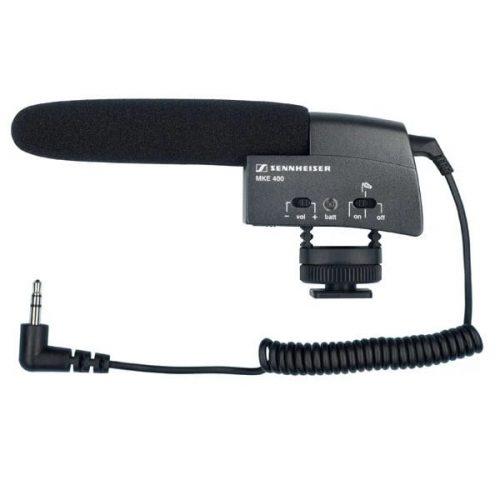 Sennheiser MKE 400 - Camera Shotgun Microphone 3