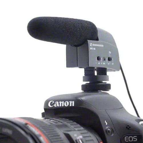 Sennheiser MKE 400 - Camera Shotgun Microphone 1